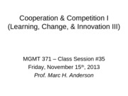 MGMT 371-13F Class #35_Cooperation I_for students