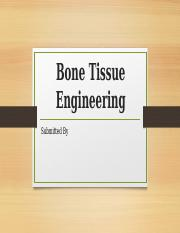 Bone Tissue Engineering.pptx