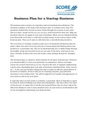 Business-Plan-for- a-Startup Draft #5.docx