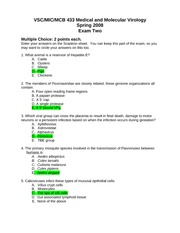 VSC433 S08 Exam Two Key