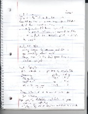 Notes lecture 1-5