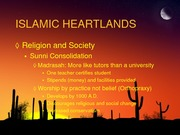 Islam Heartlands