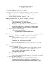 PSC 204 Final Study Guide