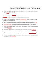 6 and 7 Chapters quiz