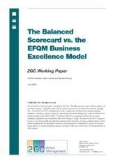 Balanced Scorecard vs Business Excellence Model
