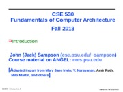 cse530-Introduction