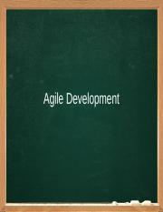 04. Agile Development