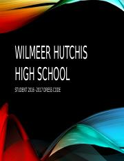 WILMEER HUTCHIS HIGH SCHOOL.pptx