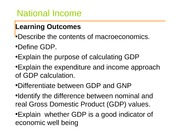 Topic 1 Measuring National income (PPT)