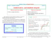antiderivatives_and_indefinite_integrals notes