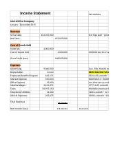 Copy of Income Statement