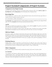 Expert SystemsComponents of Expert Systems.pdf