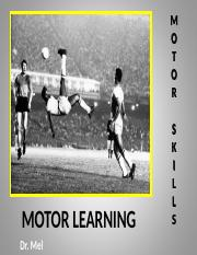 Ch. 1 - Motor Skills (Modified)