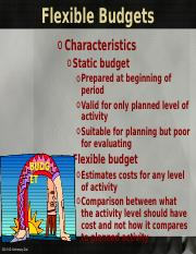Chapter 22 Flexible Budget 2014 (1).ppt