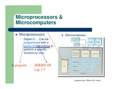 1.1 microprocesser Concepts 1
