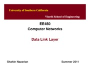 EE450-U7-DataLinkLayer-Nazarian-Summer11