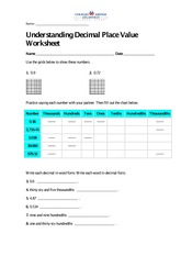 decimals-worksheets