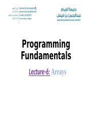 Lecture 6- array.ppt
