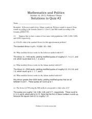 Solutions to quiz2