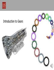 Lect 11- Gear Introduction Castro 2