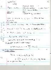 Stochastic Notes