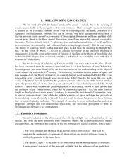 Physics 121b_Lecture Notes on Relativity