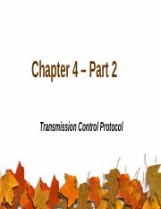 Chapter 4 – Part 2.pptx