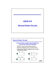 09 - Second Order Circuits