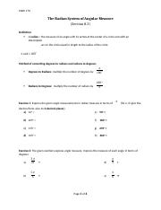 Math 170 - 3. The Radian System of Angular Measure (8.3) (1).docx
