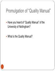 Week1_Quality Manual