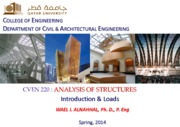 (1) Wael Alnahhal-Analysis of Structures-Introduction