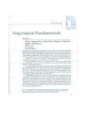 Week 1 and 2 - Negotiation Fundamentals Readings.pdf