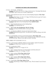 SCHEDULE OF TOPICS AND ASSIGNMENTS_Spring 209(1)