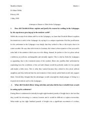 Attempts to Return to Eden In the Galapagos (1).docx