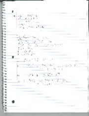 Differential Equations Class Notes Chapter 4