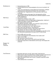 History 222 Final Study Guide