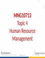 MNG10713 Topic 4