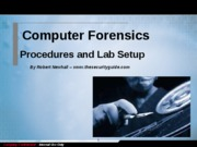 forensics procedures and lab setup_v1