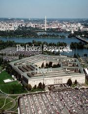 Ch 15 The Federal Bureaucracy PPT