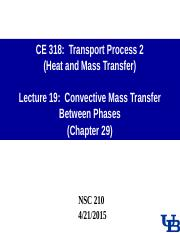 0414 Lecture-19 Convective MT Between Phases.ppt