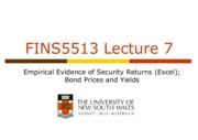 FINS5513 Lecture 07