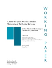 The Cycles of Electoral Democracy in Latin America [Smith, Peter]