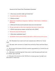 Answers to the Power Point Presentation Questions.docx