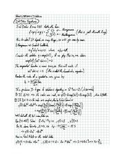 Exam 5 solution on Differential equations