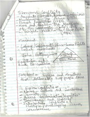 Structural Conflict notes