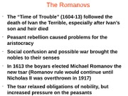 Romanov Legacy and Dynasty