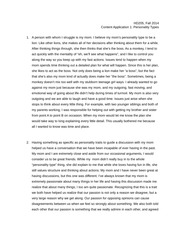 HD 205 personality type essay