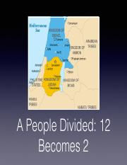 16.A People Divided_12 Becomes 2