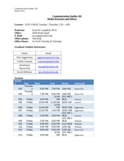 comm 102 lecture syllabus