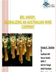 brl hardy case solution for marketing Brl hardy case solution,brl hardy  brl hardy harvard case solution & analysis  on the other side hardy had the wine making know how, marketing expertise and.
